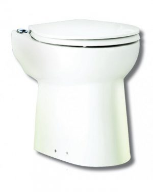 Triturador Sanitário Sanitrit Sanicompact 43 – Completo com Vaso